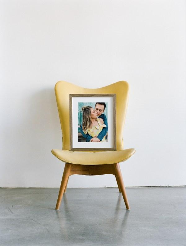 """Framed print 01 - """"Rosie"""" Frame"""