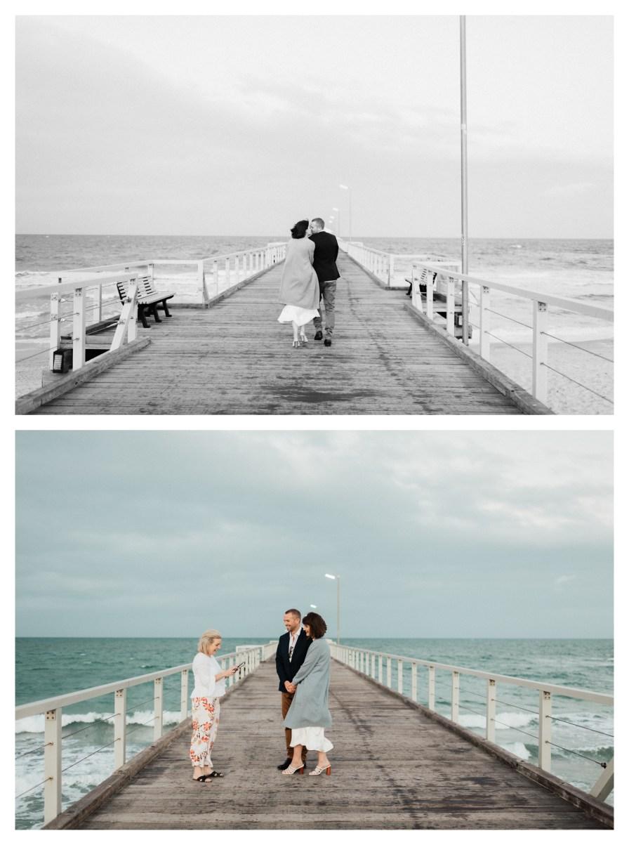 adelaidephotographer 0014 - Renee + Nic, Henley Beach Elopement