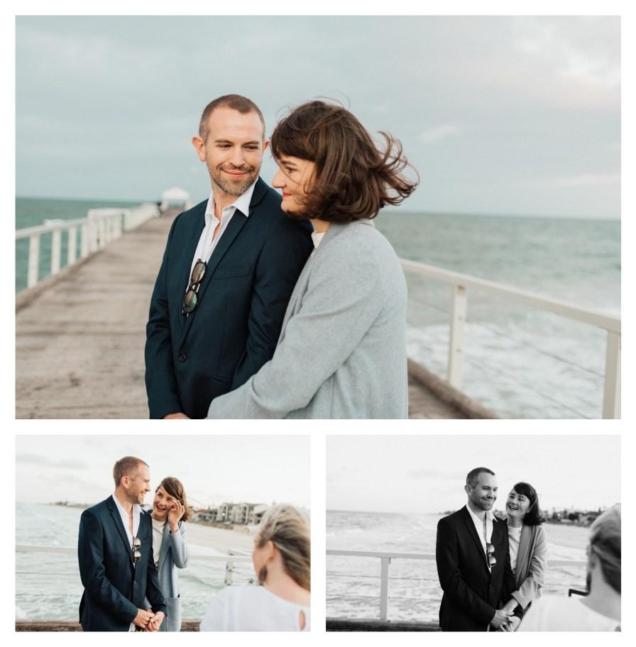 adelaidephotographer 0027 - Renee + Nic, Henley Beach Elopement
