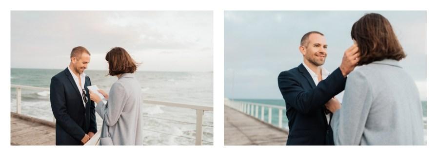 adelaidephotographer 0032 - Renee + Nic, Henley Beach Elopement