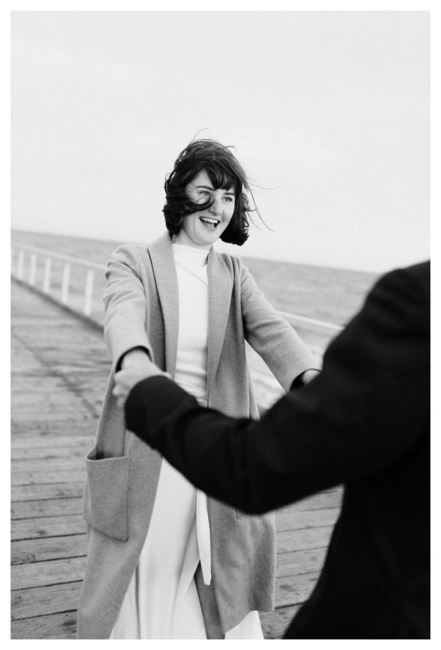 adelaidephotographer 0042 - Renee + Nic, Henley Beach Elopement