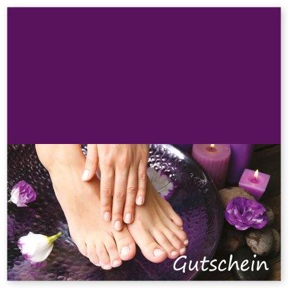 Maniküre und Pediküre Gutschein HAND & Fuß