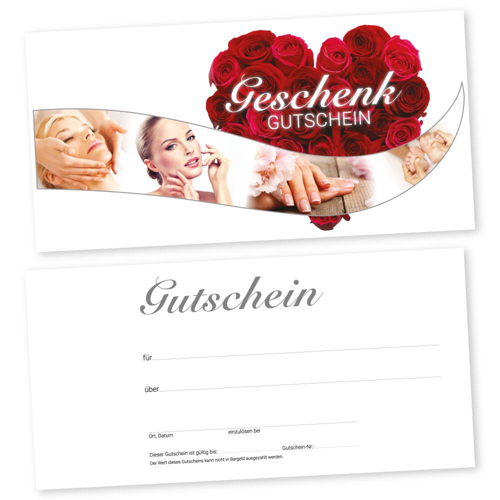 Gutscheinkarten BEAUTY MEN Gutscheine Geschenkgutscheine 50 Kosmetikstudio