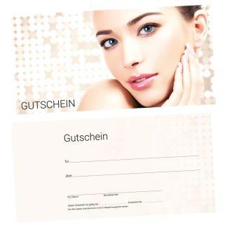 Gutscheinkarte für Kosmetikstudio BEAUTY GOLD (Gutscheinkarte)