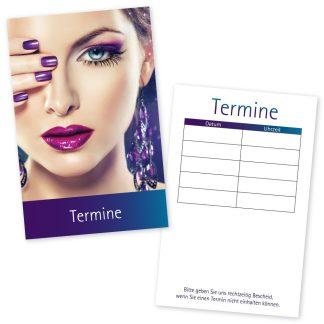 Terminkarten für Gesicht