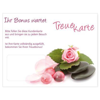 Kosmetik-Kundenkarte SPA ROSA