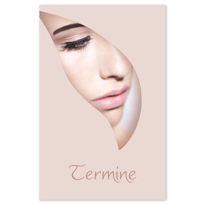 Kosmetiksalon Terminkarte NUDE