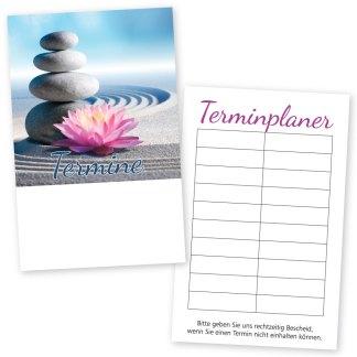 Zen-Terminkarte ZENBLÜTE mit 10 Terminen