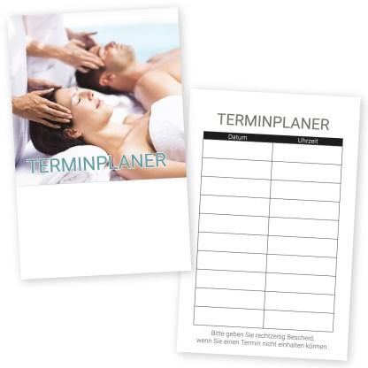 Wellness Terminkarte PAAR bei der MASSAGE mit 10 Terminen