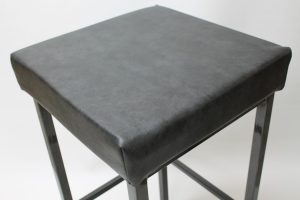 Custom Upholstered Stool