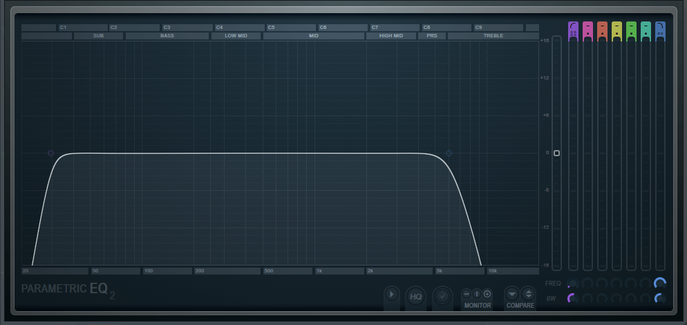 Fruity Parametric EQ 2 Bass Automation