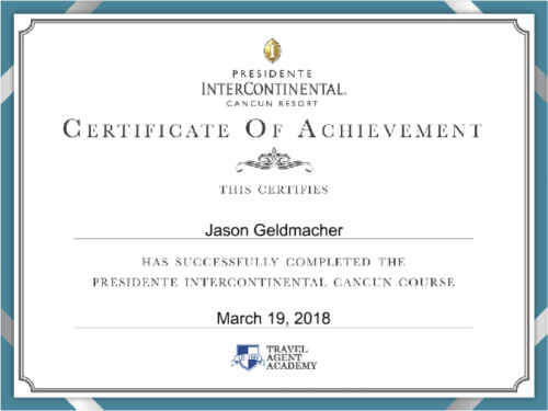 Presidente InterContinental Specialist Cancun%20(1) - Recognition