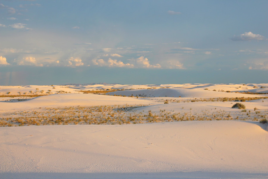 White Sands Evening