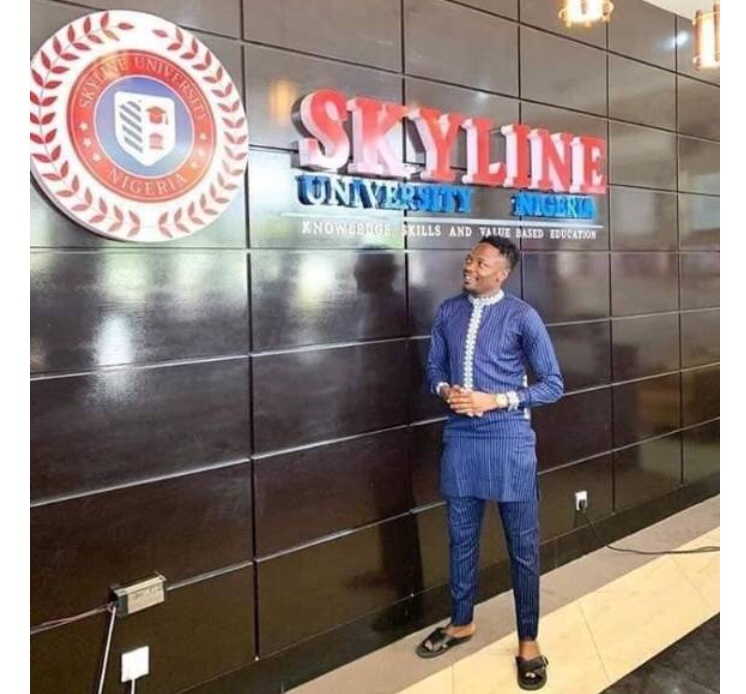 Ahmed Musa has decided to pay the tuition fee of 100 students at Skyline University