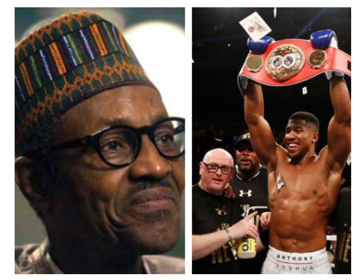 I call on President Buhari to show support for Anthony Joshua as he puts Nigeria on the world stage against Ruiz – Ben Bruce