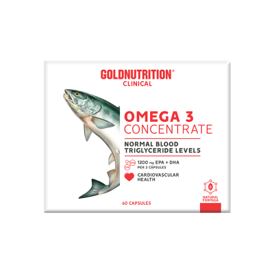 Omega 3 Concentrate GoldNutrition