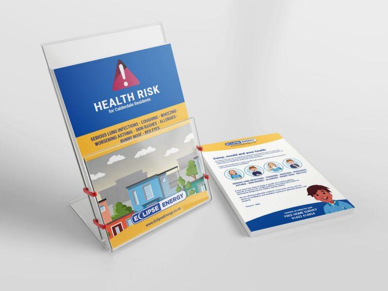 4 page booklet design Halifax