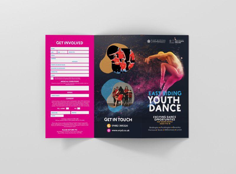 Flyer Design and Branded Social Media Graphics West Yorkshire