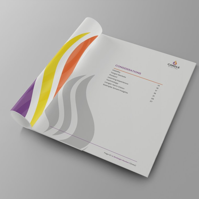 Document Booklet template design for businesses in Halifax West Yorkshire