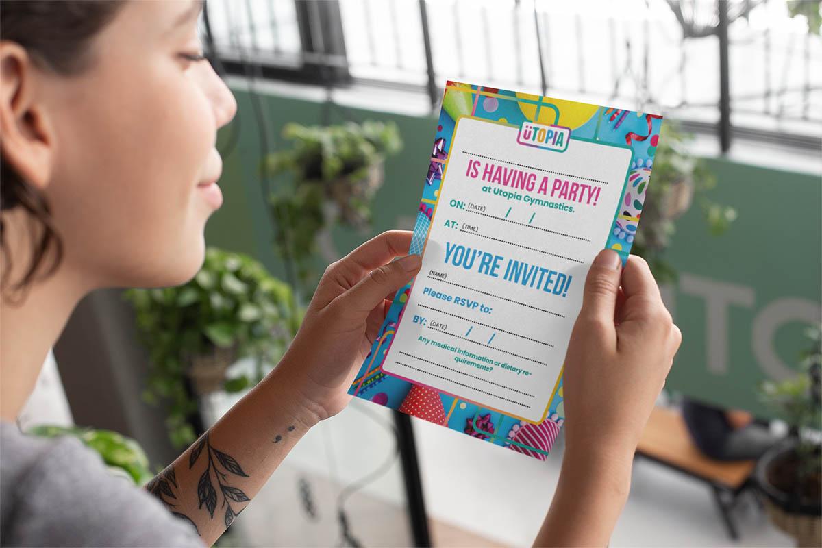 Designer for Party Invitations