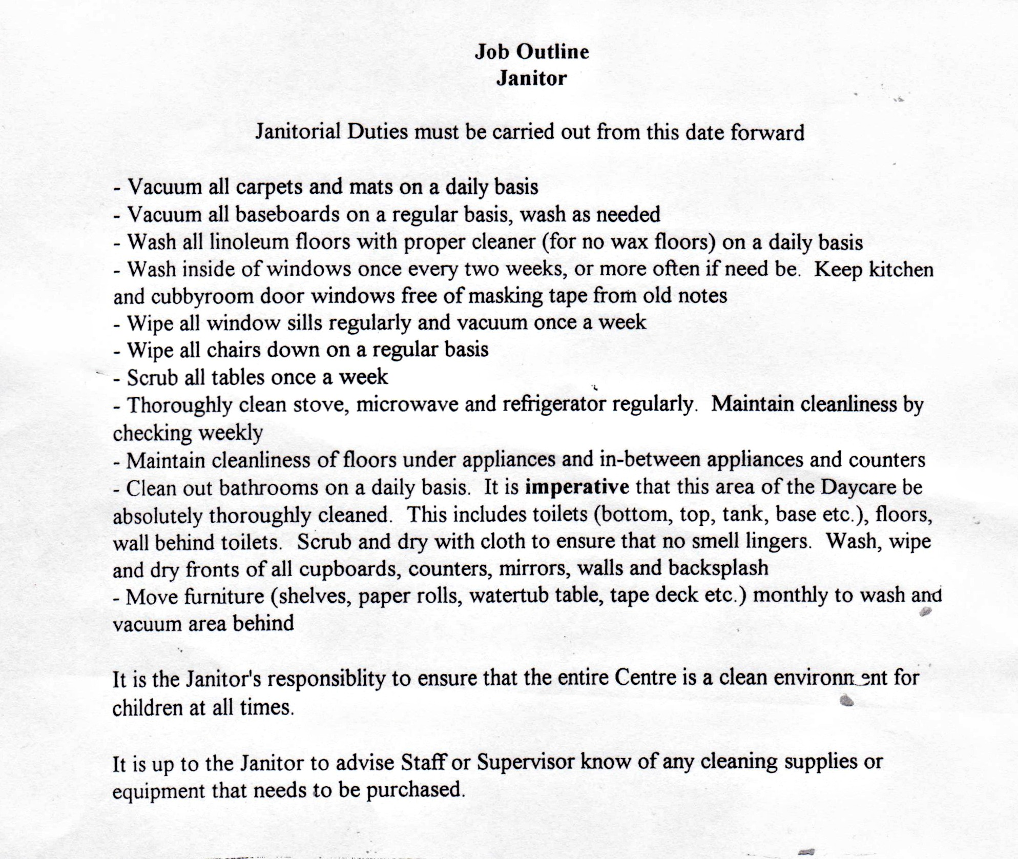 Custodial Manager Resume. resume sample 5 operations manager ...