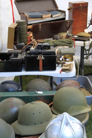 Army helmets can be repurposed.