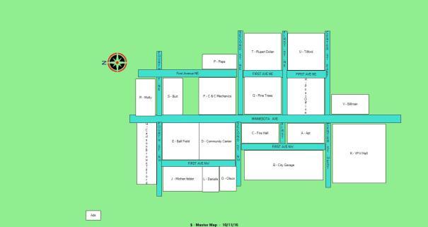 Oronoco Gold Rush Main Map