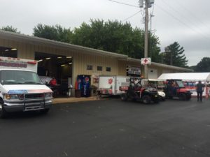 Oronoco Fire Hall has food and beverages.