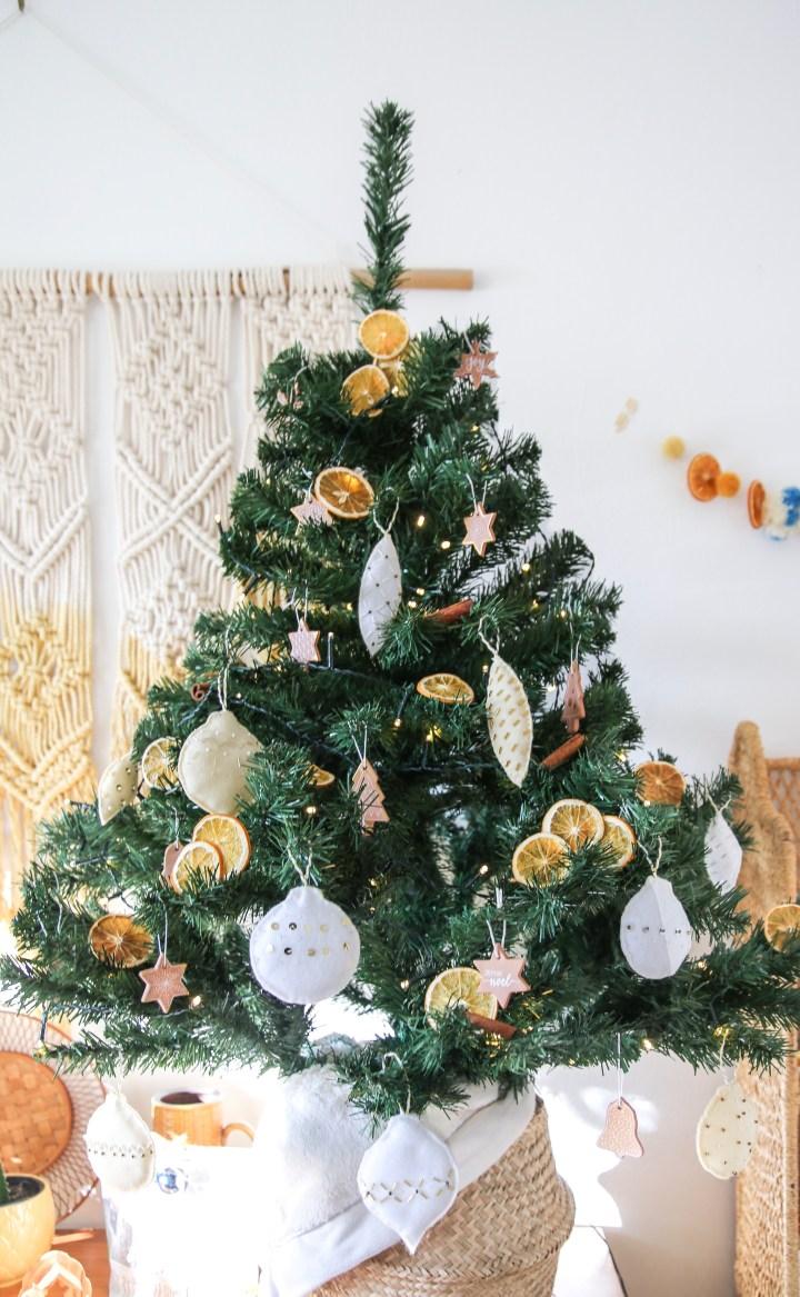 DIY Christbaumanhänger nähen Weihnachten