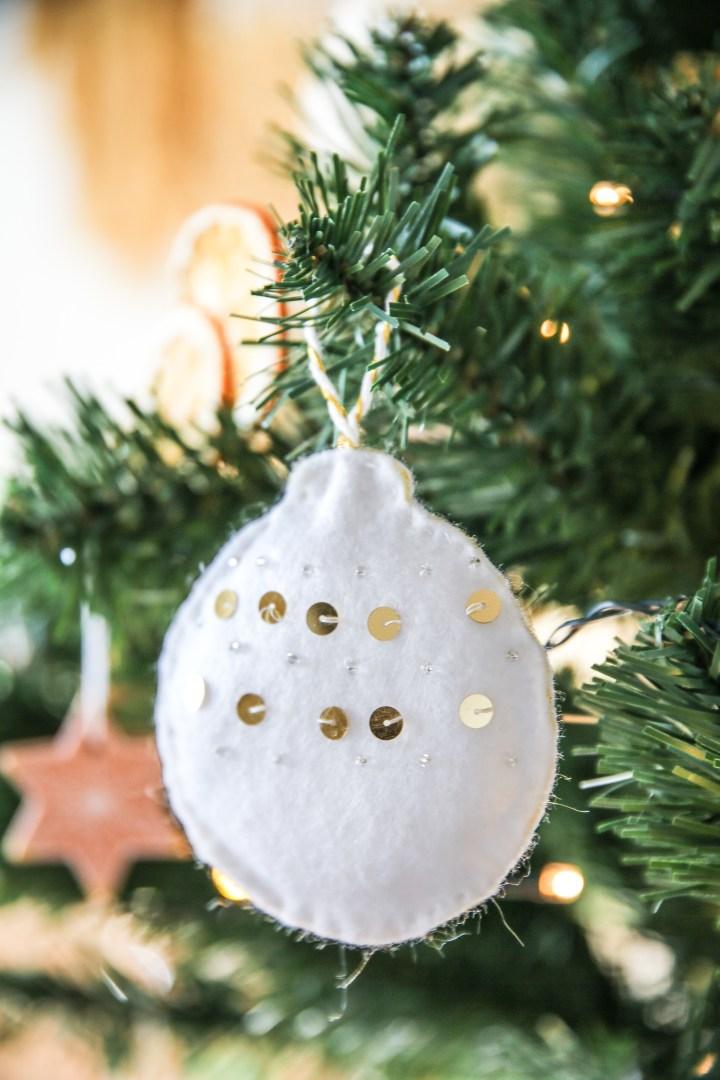 DIY Christbaumschmuck nähen Weihnachten