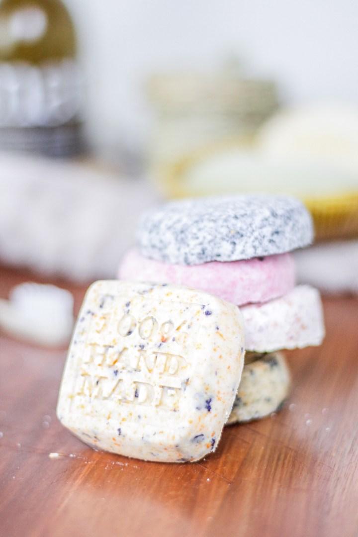 DIY Pflegeprodukte Kosmetik selbermachen Shampoo-Bars festes Shampoo Seife