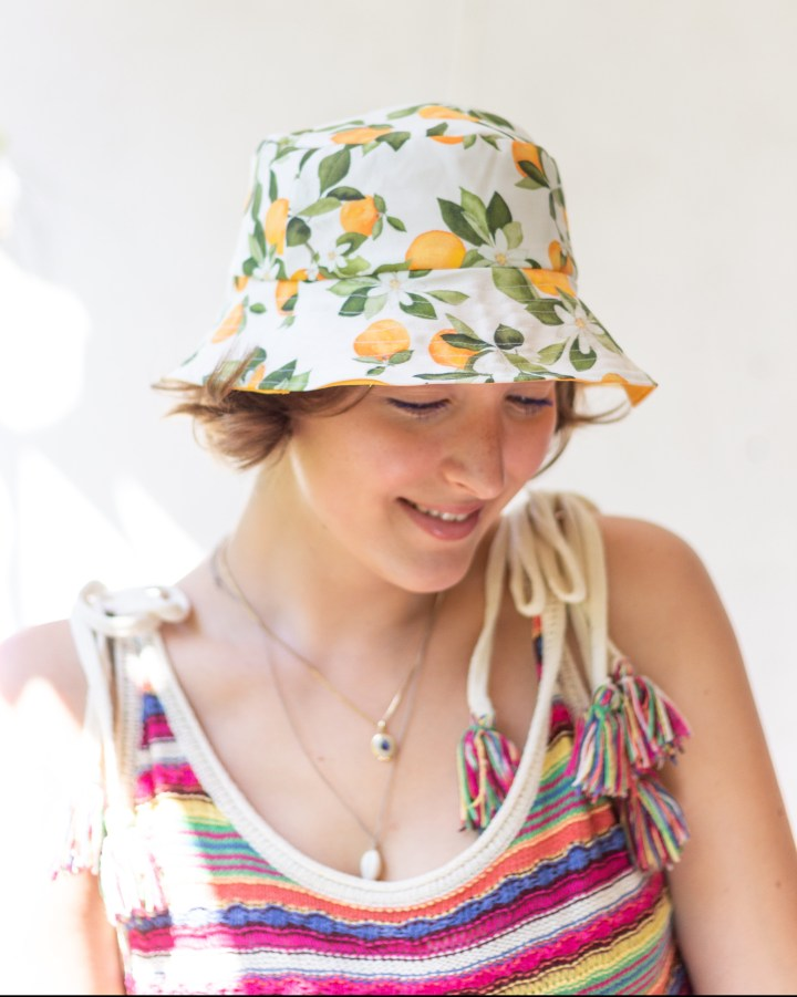 DIY Bucket Hat / Fischerhut nähen – mit Schnittmuster