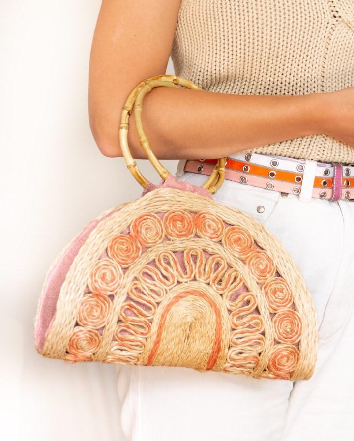 DIY: Handtasche aus Tischset nähen