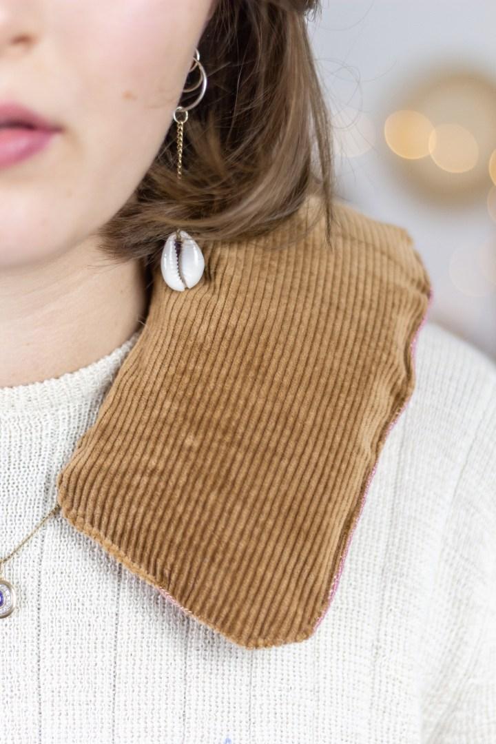 DIY Körnerkissen für den Nacken nähen
