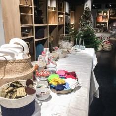 """""""Adventskränze aus Stoffresten"""" - Workshop auf einem Weihnachts-Blogger*innen Event von Maisons du Monde in München (November 2019)"""