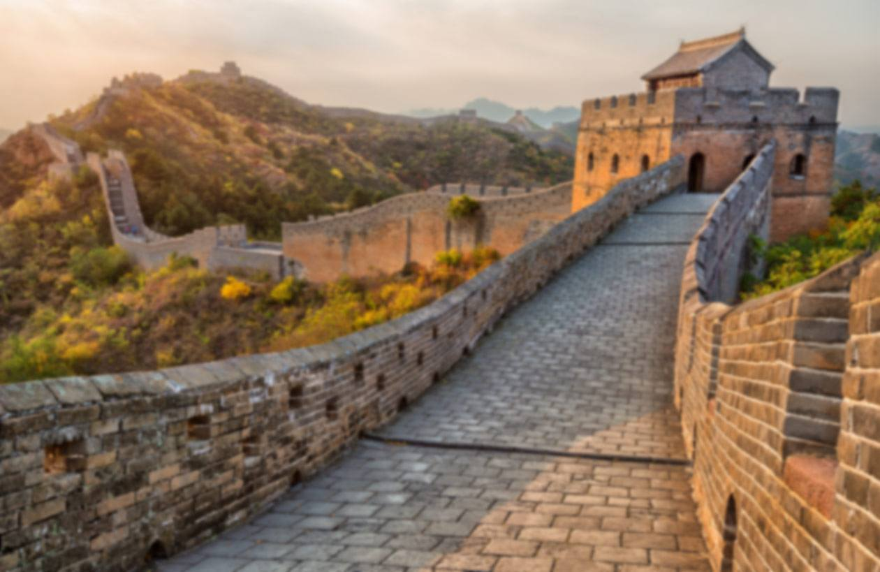 Beijing Great Wall Of Chinablur2