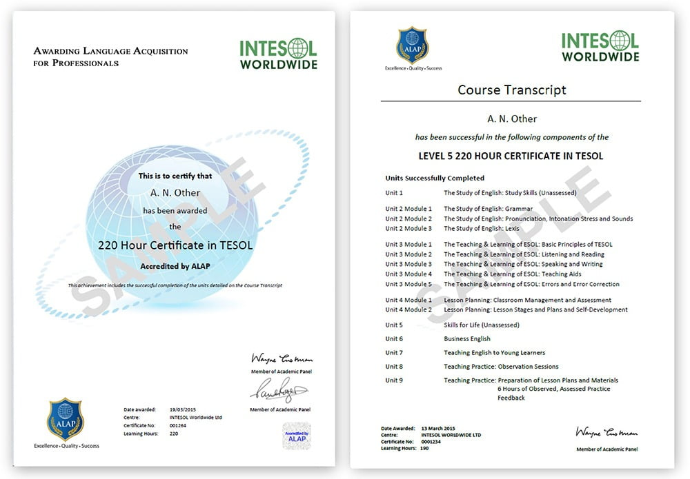 Intesol Online Tesol Courses For Teaching Esl Abroad