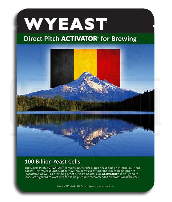 Wyeast 3726 Farmhouse Ale Yeast Liquid SmackPack Goldsteam
