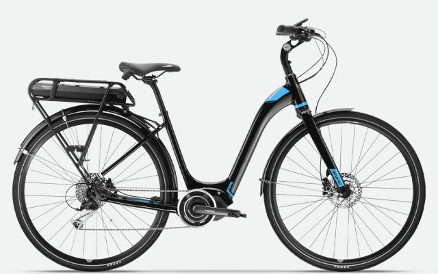 The Devinci E-Griffin is one option in electric bikes.