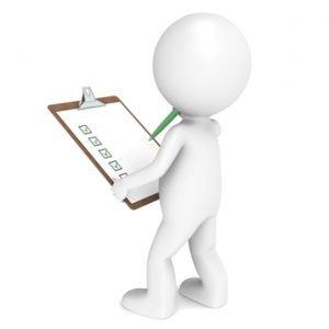 Inspector Ergonomic Checklist