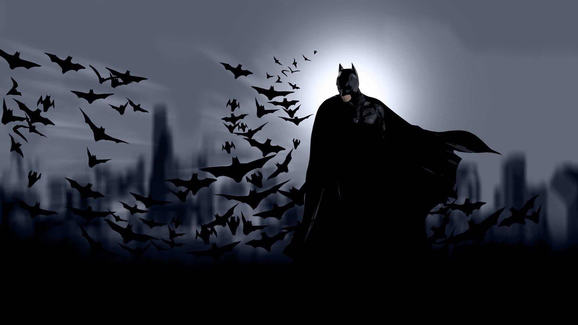 high definition batman cartoon wallpaper - high definition wallpaper