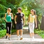 The Physical Effects of Walking