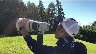 【男子ゴルフ】プロカメラマンの1日