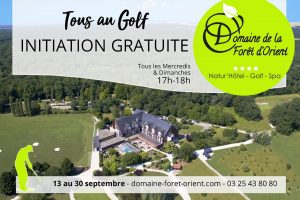 TOUS AU GOLF INITIATION GRATUITE