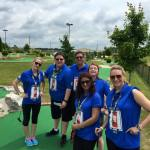 mini golf team building