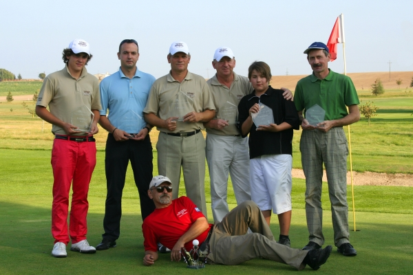 Od lewej stoją: Krzysztof Rykowski, Krzysztof Pawlik, Zbigniew Piskorz, Andrzej Dróżdż, Kasper Płaszczykowski, Piotr Lichy; leży Witold Piechaczyk.