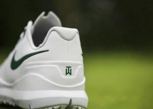 Nike Masters Tiger Woods Shoe heel