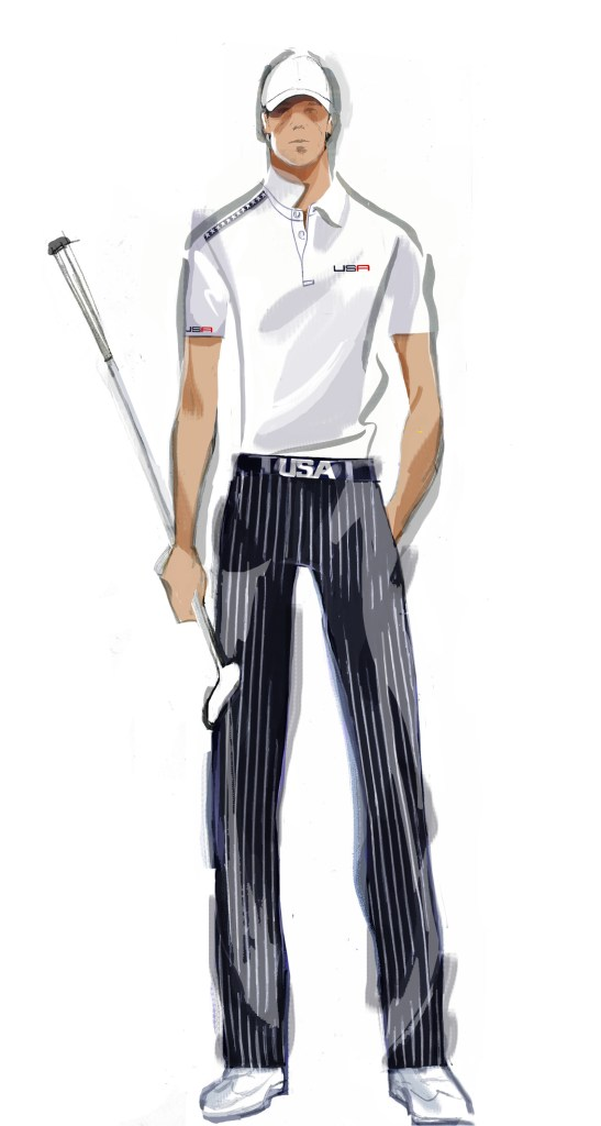 Ryder Cup Day 1 Uniform