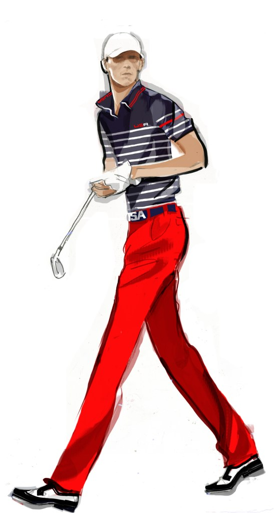 Ryder Cup Day 3 Uniform