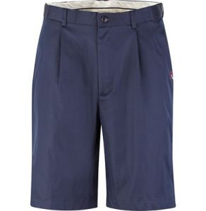 Shorts blue pleat